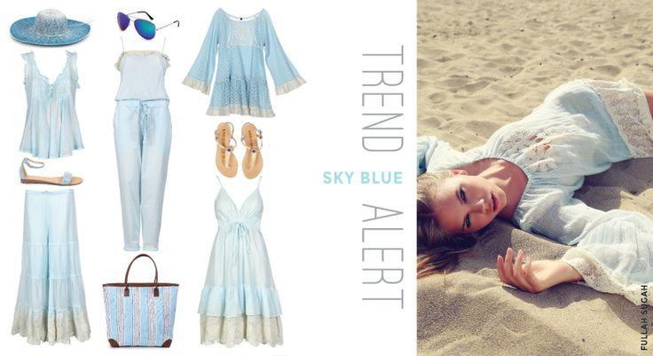 #TrendAlert #skyblue #fullahsugah #fulllah_sugah #ss2014 #colection #fashion #shopping