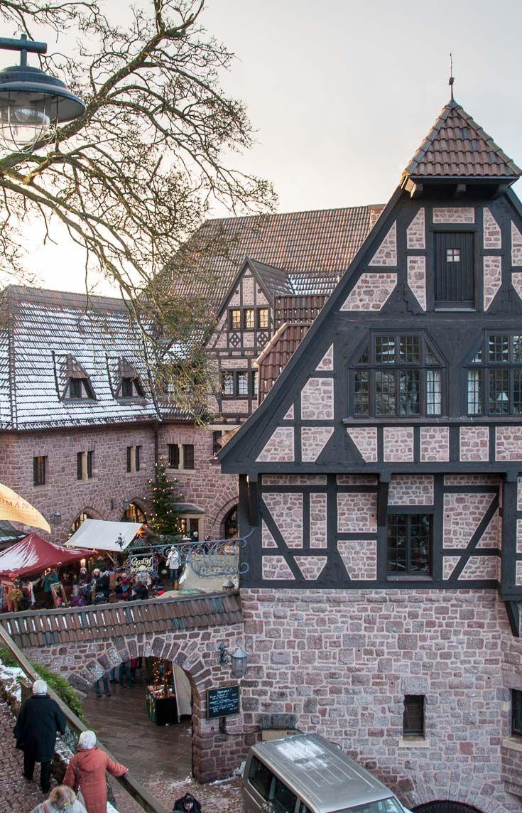 Stimmungsvoller Advent auf der Wartburg und weitere Tipps für traumhafte Adventmärkte in Thüringen. Selbst ausprobiert. Meine Erfahrungen im Reiseblog. #deinthüringen