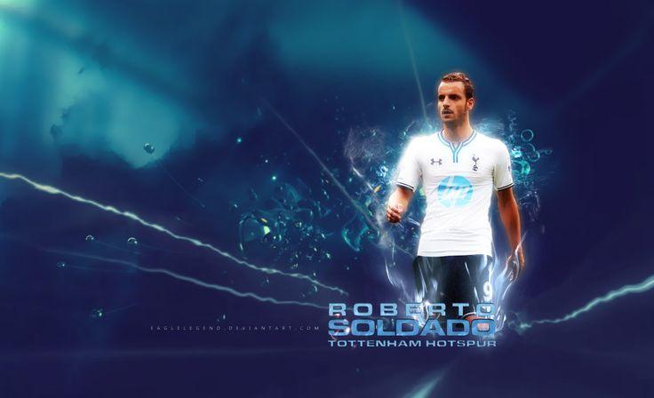 Roberto Soldado Tottenham Hotspur HD Wallpaper
