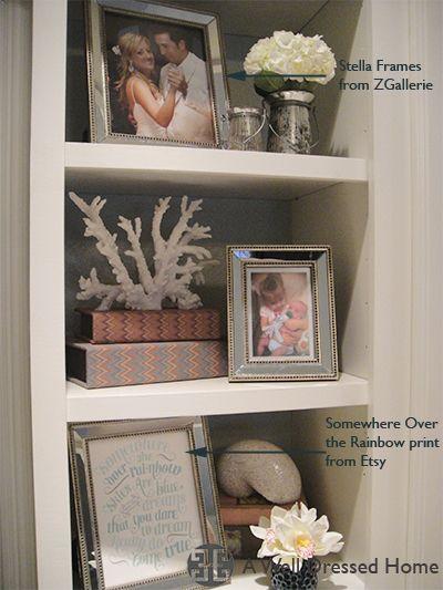 Nice Arrangement For Any Shelf E Great Interior Design Blog