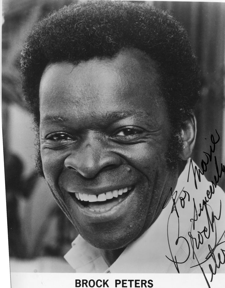 brock peters funeral