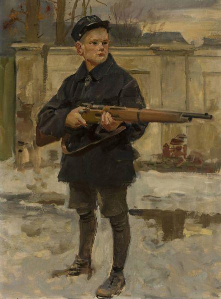 Orlę lwowskie - Wojciech Kossak