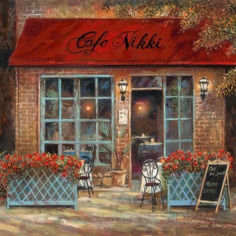 Café Nikki Impressão artística