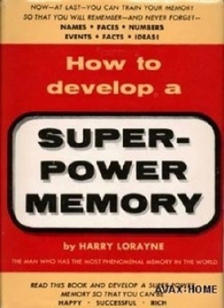 How to Develop a Super Power Memory    book---CD