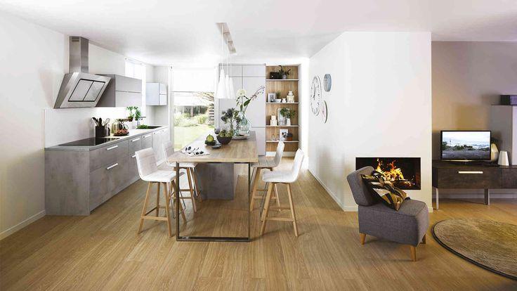 Cuisine Equipee Design Et Moderne Ou Sur Mesure Cuisine Cuisinella Projet Gambetta Pinterest