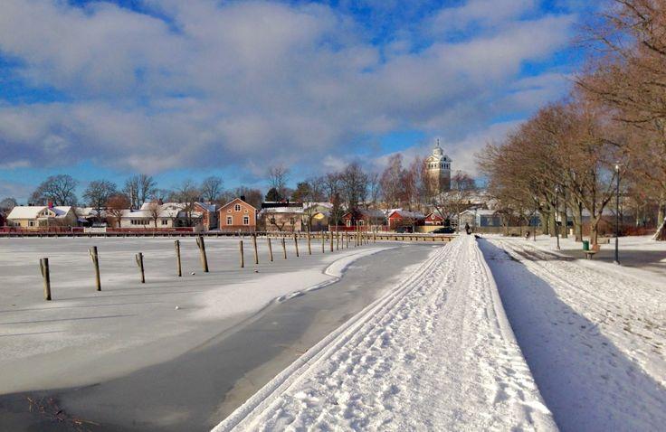 Winter in Ekenäs, Finland