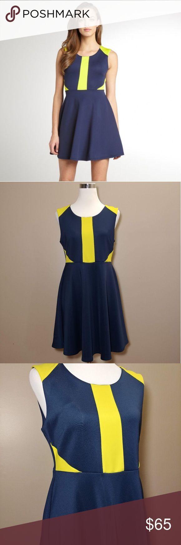 Nwt Romeo Juliet Blue Yellow Skater Dress Super Cute Blue And Yellow Dress By Romeo Juliet Coutu Blue Cout Blue And Yellow Dress Yellow Dress Fashion [ 1740 x 580 Pixel ]