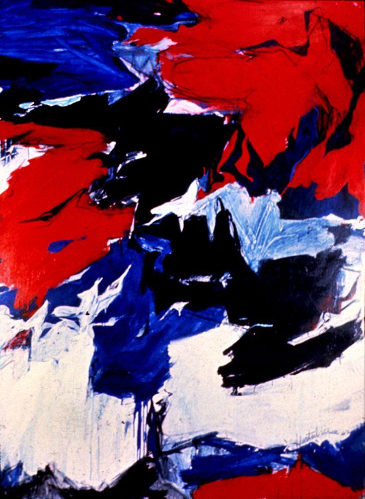 Jacques Hurtubise - Peinture No. 40, 1962