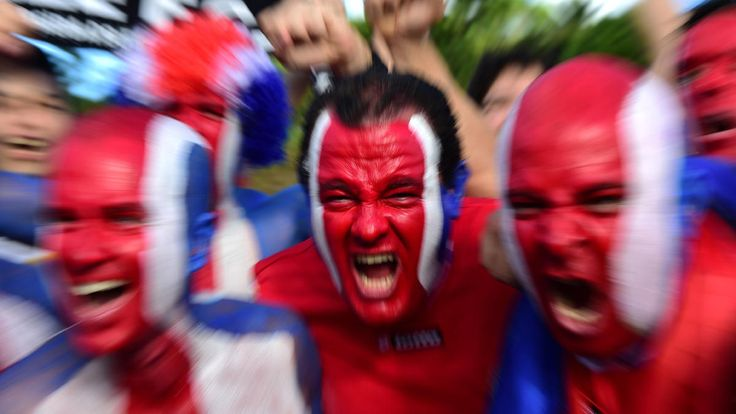 Must See: Crazy Fans at the World Cup   World cup