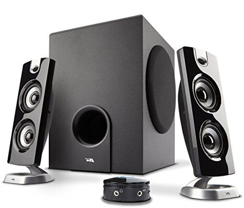 Cyber Acoustics Multimedia PC Speaker with Subwoofer - Perfect for Music Movies and Games (CA-3602a)