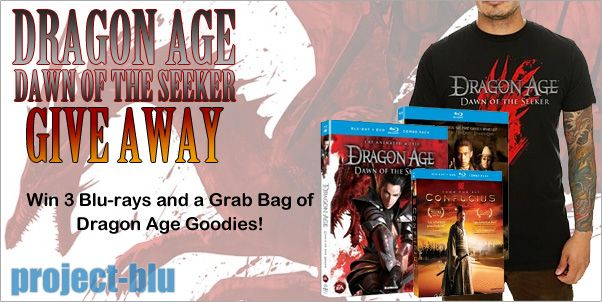 Dragon Age Prize Pack Give-Away!
