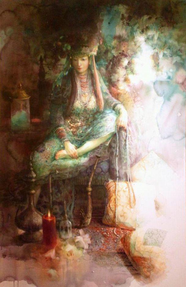 Painting by Yuko Nagayama