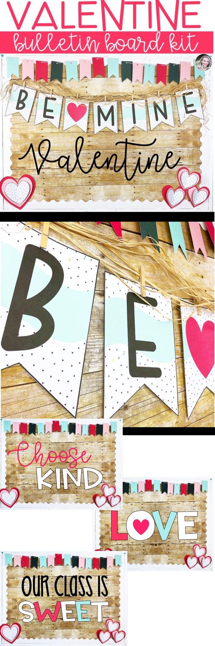 Valentine's Day Bulletin Board Ideas. February Bulletin Board. Bee Mine Valentine. Choose Kind. Our Class is Sweet!