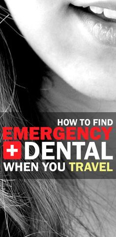 How to handle your next dental snafu when you're traveling. What to look for, what to ask, and how to act fast and responsible. | How To Find Emergency Dental Care When You Travel is brought to you by TravelisLife.org and Orawellness.com