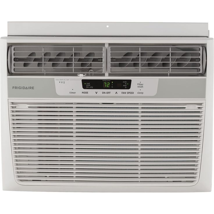 Frigidaire FFRA1222R1 12,000 BTU 115V Window-Mounted Compact Air Conditioner with Remote Control (White)