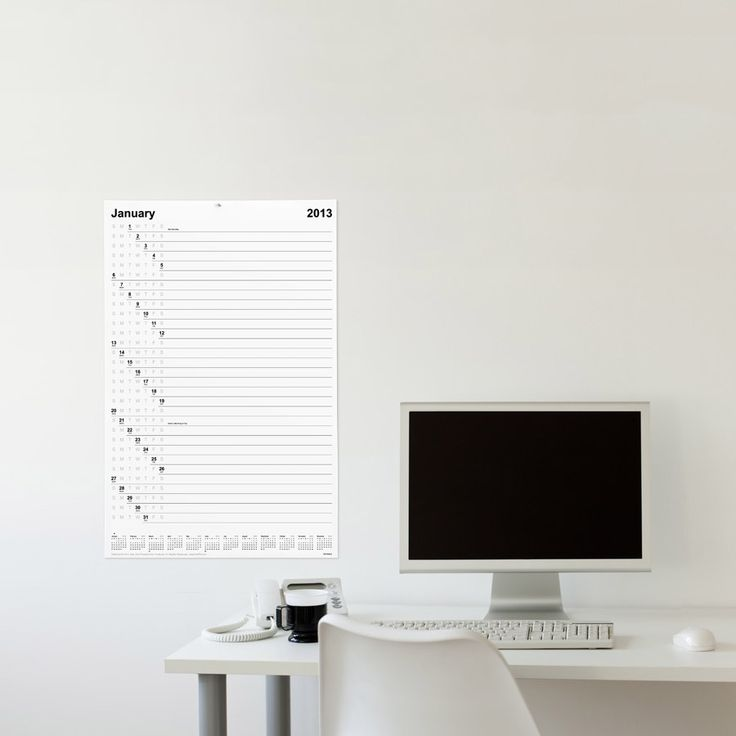 To-Do Wall Calendar and to-do list. Quite beautiful! $13