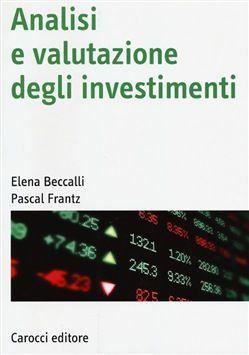 Prezzi e Sconti: #Analisi e valutazione degli investimenti -  ad Euro 24.65 in #Carocci #Media libri scienze sociali