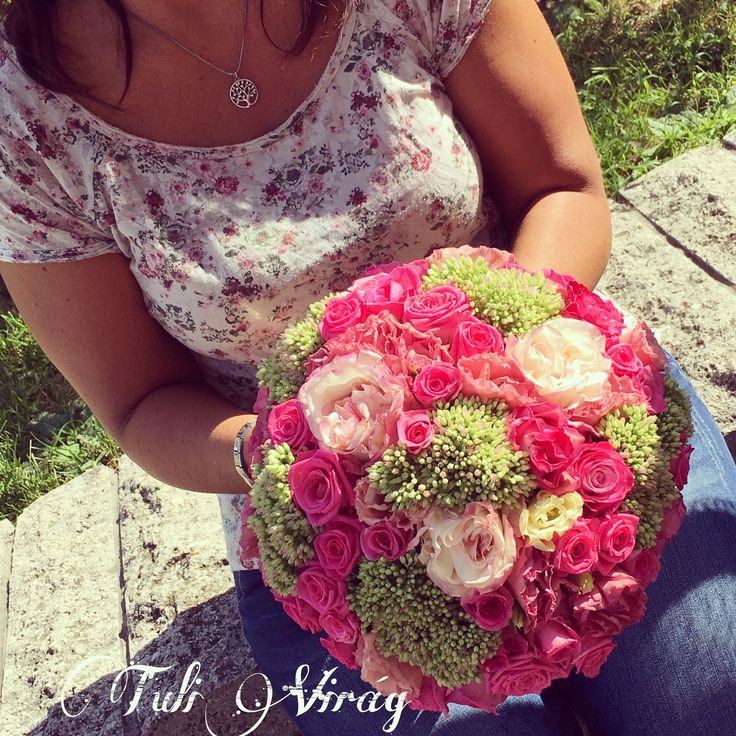 #weddingflowers #wedding #pinkflowers #love
