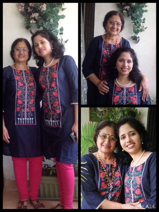My entry for the #MothersDay #MomsDayOut It was super fun styling my mom with #WKurta. We both looked like Twinisies  Thanks to W for Woman for making it so very special with my mom on this Mothers Day