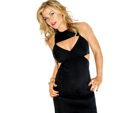 Alison Sweeney's Stay-Fit Secrets: Don't let gravity do the work. The down on every move is just as important as the up. Our August cover girl is smokin' in a Michael Kors LBD #SelfMagazine.