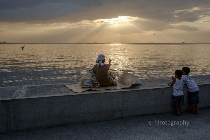 フィリピン マニラ栄光の光
