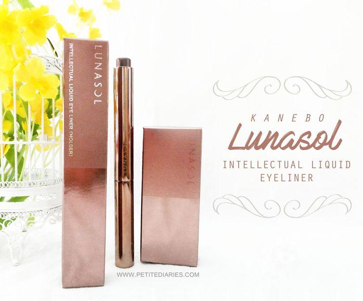 Review Kanebo Lunasol Intellectual Liquid eyeliner Japanese : http://www.petitediaries.com/2016/12/review-kanebo-lunasol-intellectual.html - #kanebo #japan #japanesemakeup #eyeliner #penliner