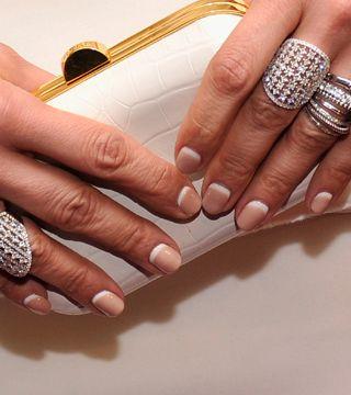 Jennifer Lopez's Reverse French Manicure - Daily Makeover