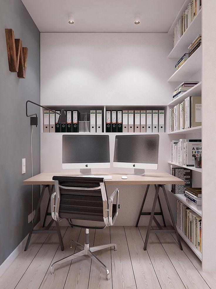 17 beste afbeeldingen over werkplek op pinterest kantoorruimtes planken en wit kantoor - Amenager zijn caravan ...