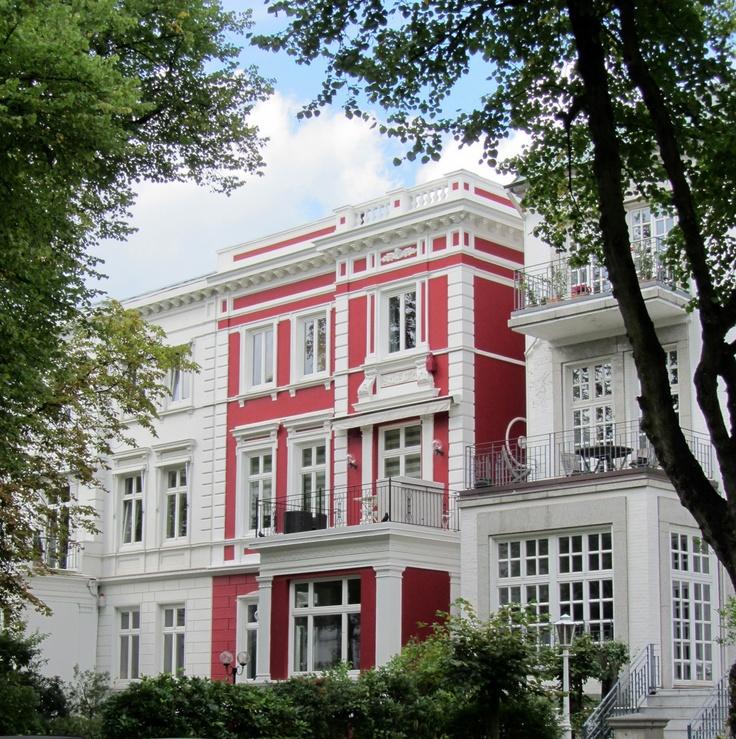 Häuser in Harvestehude, Hamburg