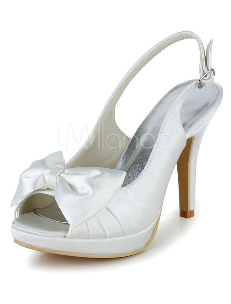 L TC Chaussures Pour Femmes Soie Talon Plat Bout Rond Chaussures Plates Mariagechampagne / argent / Mauve / Bleu / Rouge / Rose / Blanc , red , 39