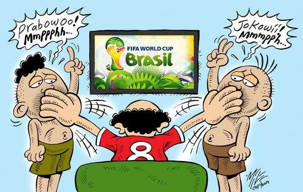 Mice Cartoon, Rakyat Merdeka 13.06.14: SHUT UP!!