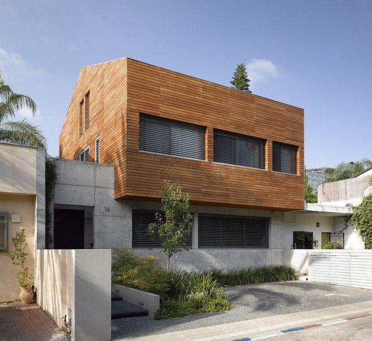 Kombination von Sichtbeton und Holz - STV House
