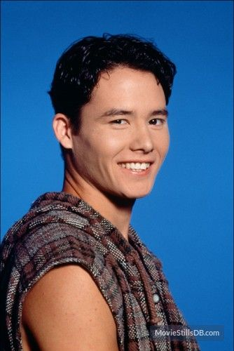 Mighty Morphin' Power Rangers promo shot of Johnny Yong Bosch