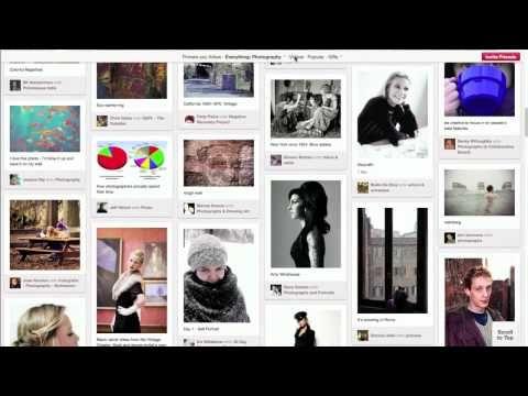 Pinterest in 7 minuti, video tutorial per scoprire il social network del momento