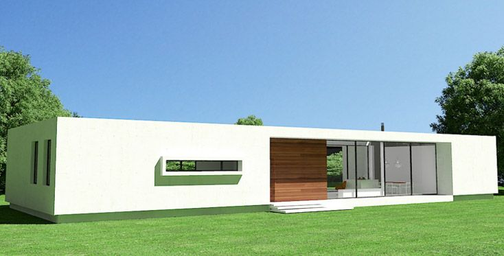 17 mejores ideas sobre casas industrializadas en pinterest - Viviendas modulares diseno ...