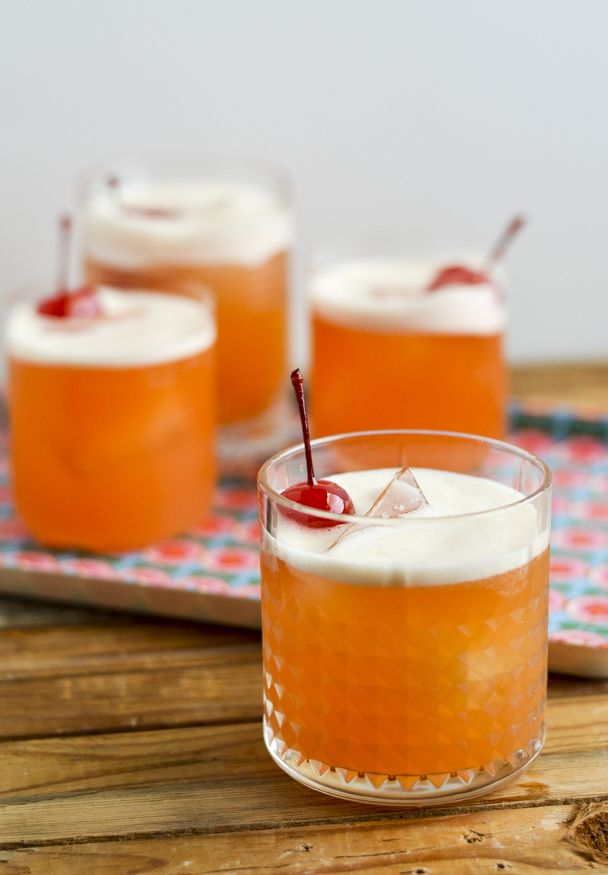 The Tropical Jewel - a Maker's Mark whisky cocktail