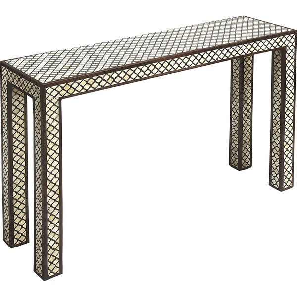 Butler Basan Rectangular Wood and Bone Inlay Console Table   Style. The 25  best Sheesham wood furniture ideas on Pinterest   Computer