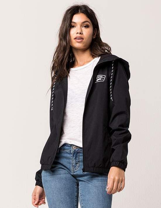 tilllys   VANS Kastle Womens Windbreaker Jacket
