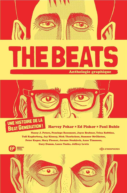 The Beats, Antologie graphique - [Harvey Pekar, Ed Piskor et Paul Buhle]