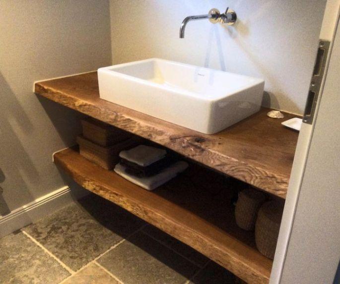 Risultati immagini per mobili bagno legno grezzo nel 2019 ...