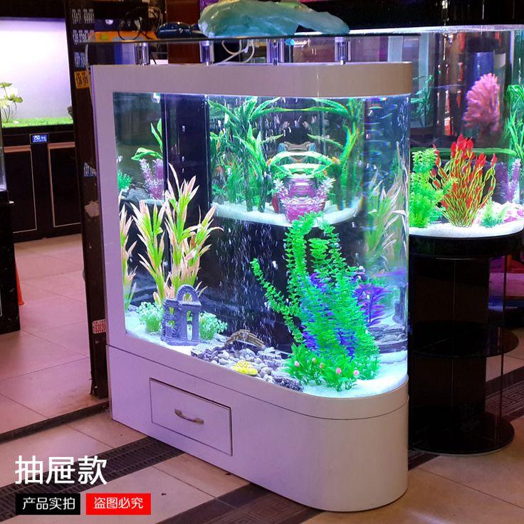 10 best living color aquariums retail installations for Creative fish tanks
