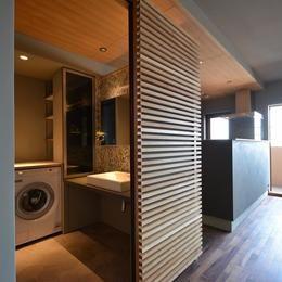 特別な場所としての洗面室