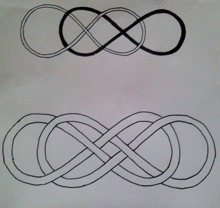 double infinity tattoo by ~MaryCloe on deviantART