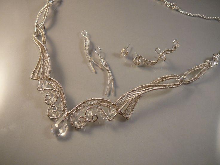 Mithrillion Jewelry-bridal jewelry set