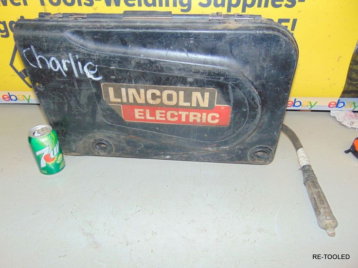 WIRE FEED WELDER LINCOLN ELECTRIC LN-25 PRO SUITCASE WELDING MACHINE FEEDER # #Lincoln