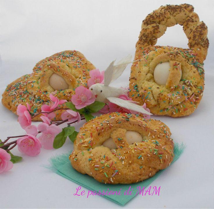 """""""Cuddure"""" ricetta dolce di Pasqua"""