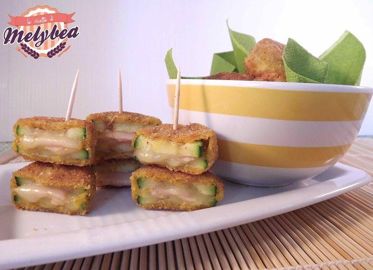 #Zucchine impanate con sorpresa #ricetta #fingerfood