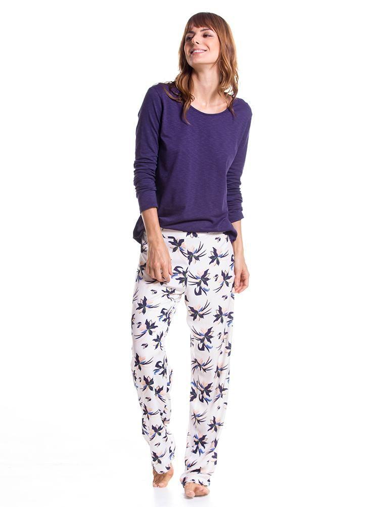 Pantalon Pijama Mujer Bronzini Pantalones De Pijama Pano Pijamas Mujer