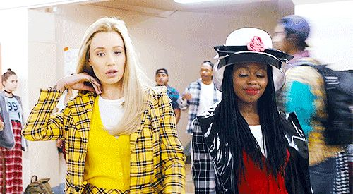 "And we all know Iggy Azalea based her entire ""Fancy"" music video around her in the same outfit last year. 