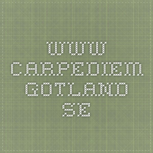 www.carpediem-gotland.se